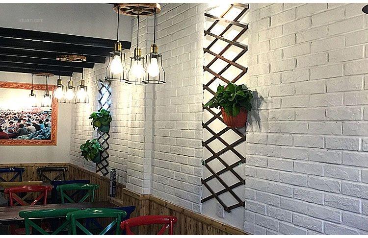 白色文化砖电视背景墙仿古砖小白砖