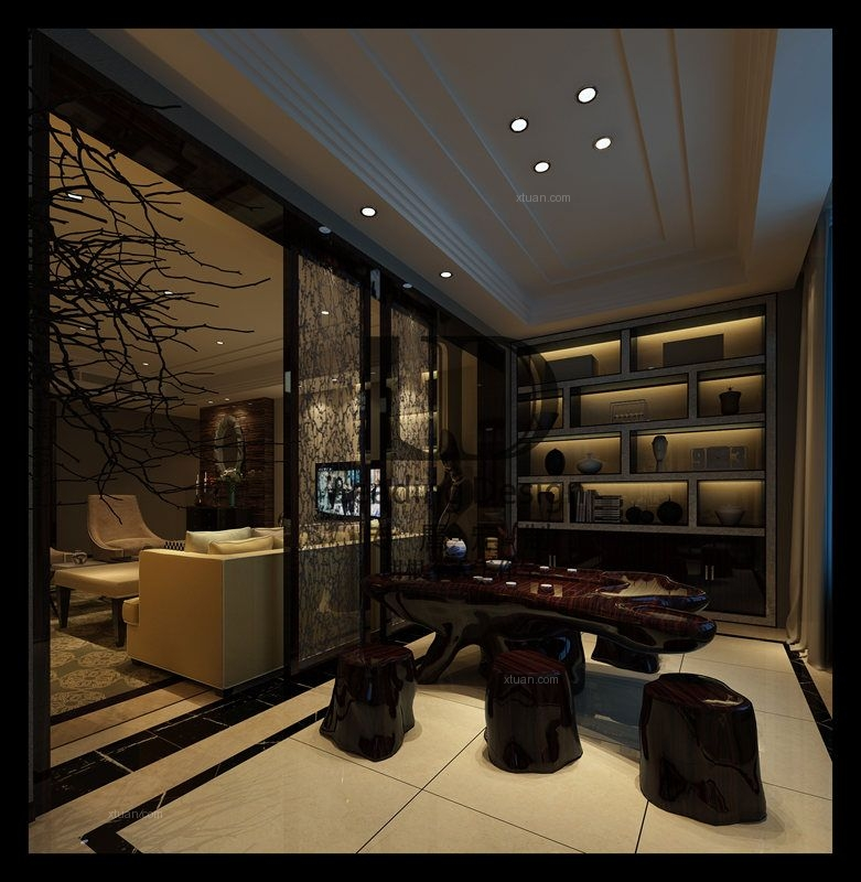 重庆龙湖春森彼岸装修案例设计方案效果