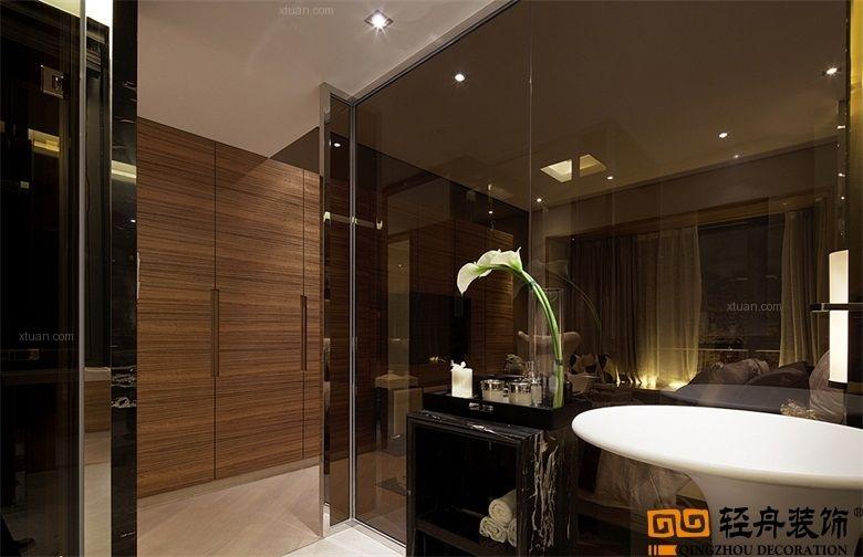 三室两厅现代简约卫生间