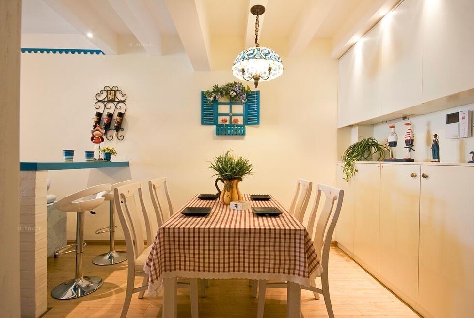 两居室地中海风格餐厅
