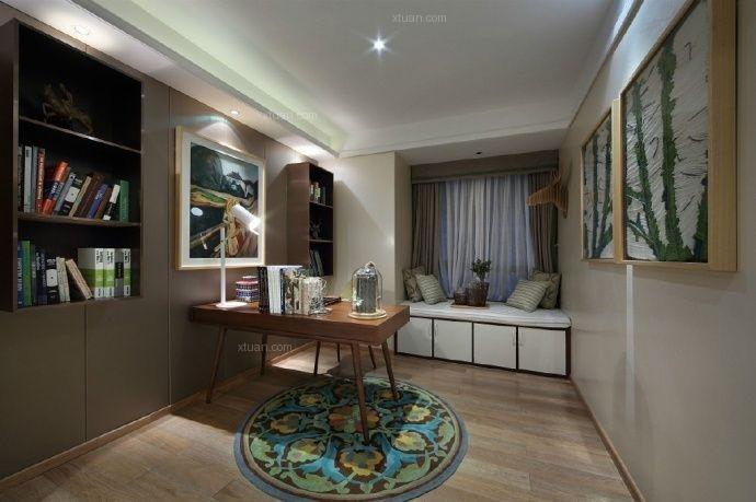 两居室欧式风格休闲区
