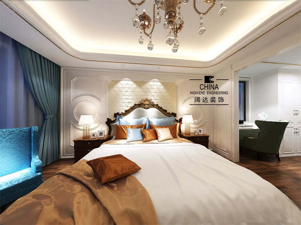 大户型法式风格卧室