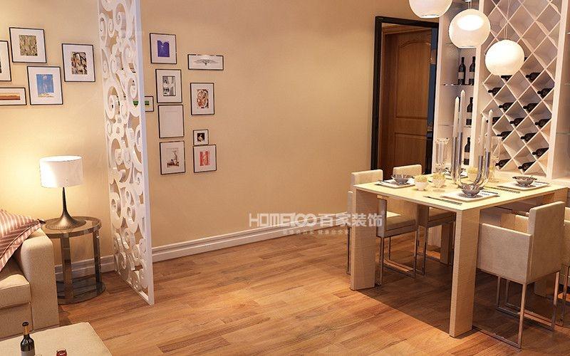 两居室美式风格玄关软装