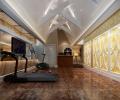 无锡金色水岸500平欧式现代风格装修案例