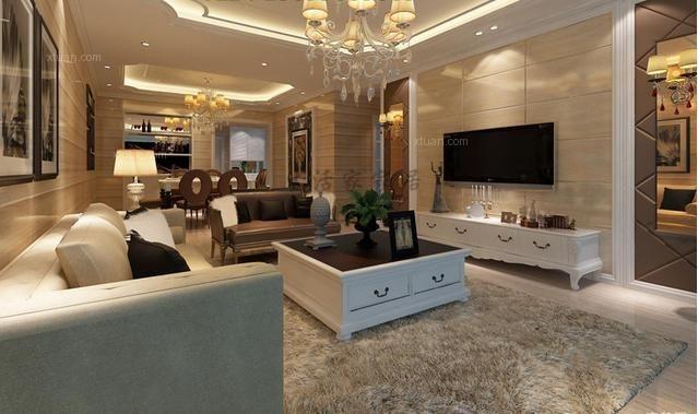 蓝光香江国际两居室