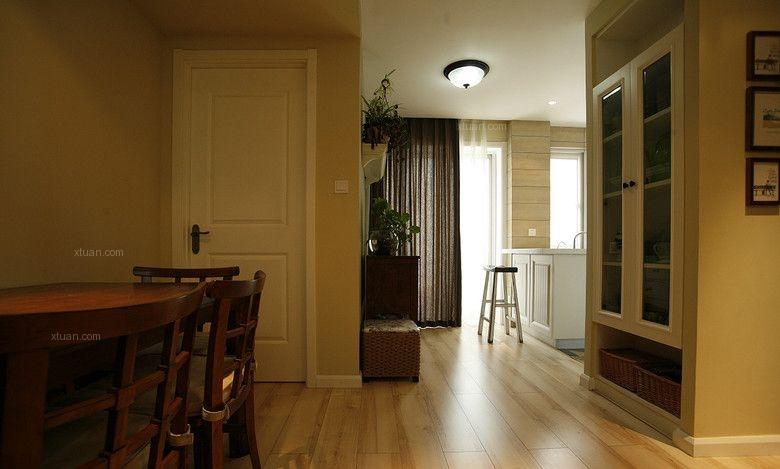 三室两厅混搭风格过道