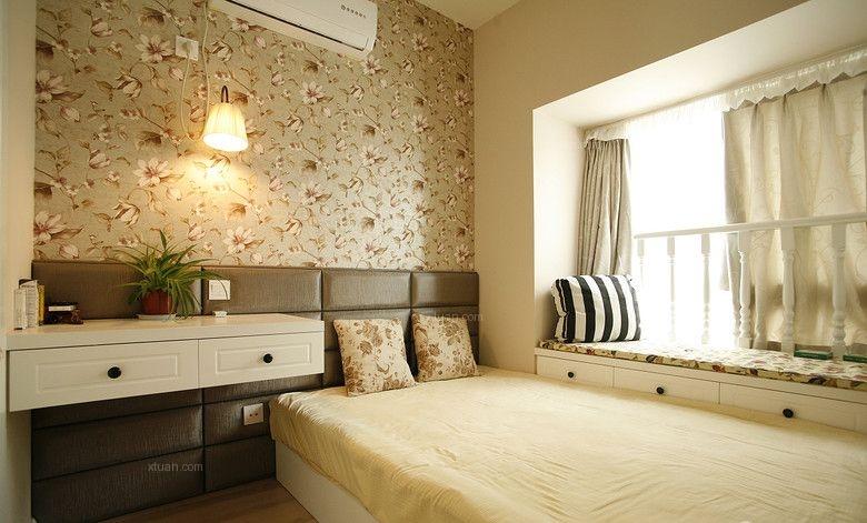 三室两厅混搭风格主卧室