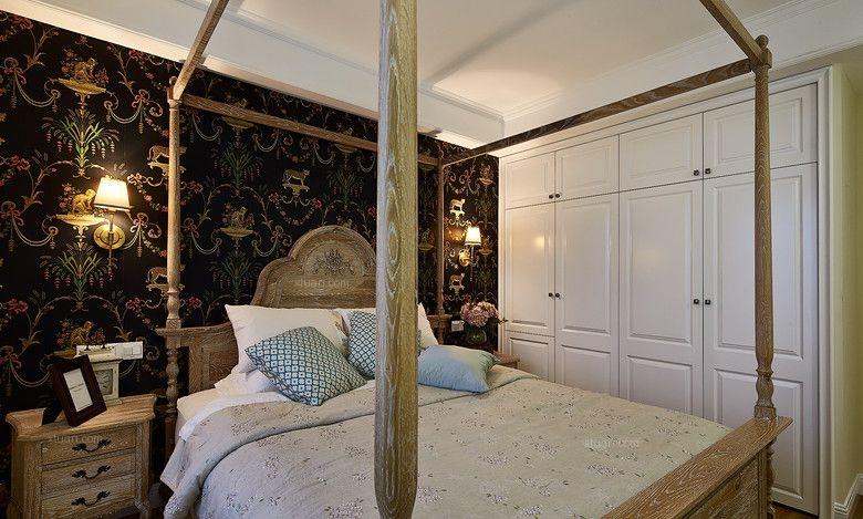 三居室法式风格主卧室