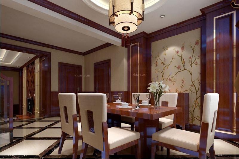 独栋别墅混搭风格餐厅