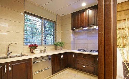 两居室中式风格厨房