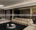 紫林湾三居室现代简约装修效果图