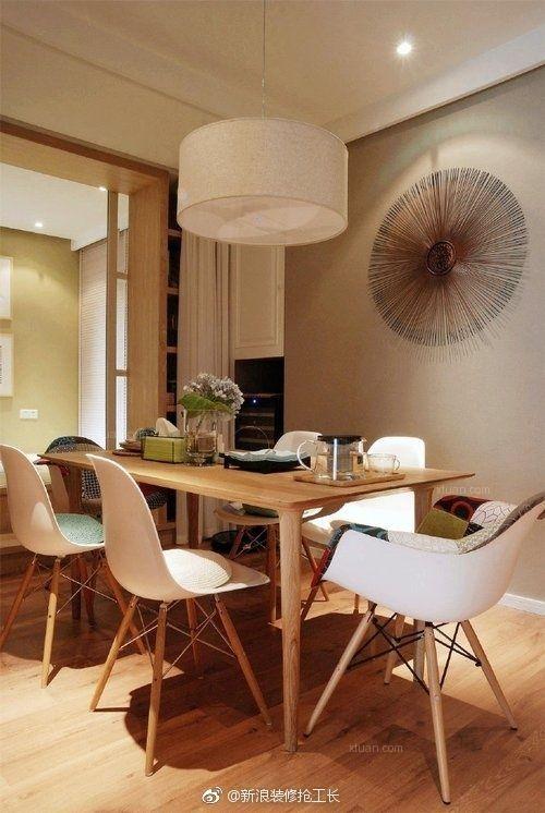 两居室简欧风格餐厅