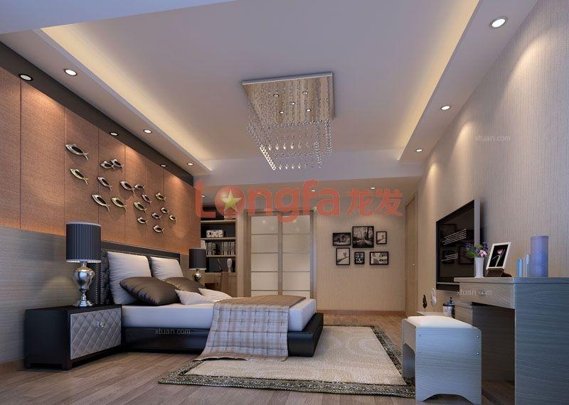 四居室现代风格卧室