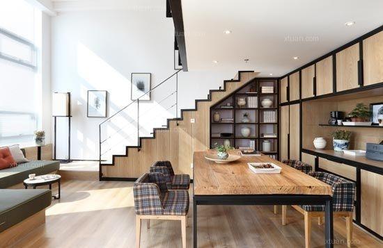 一居室现代简约客厅影视墙