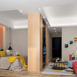 长平的第一城公寓