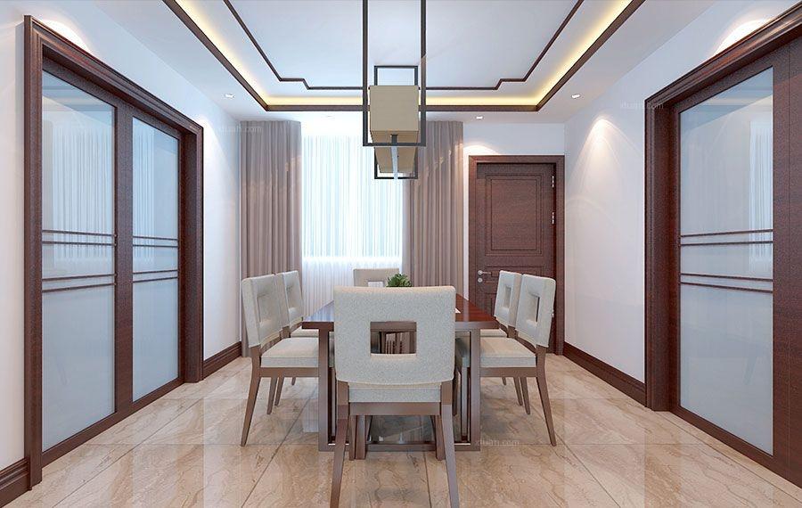 曼哈顿B2三居室装修