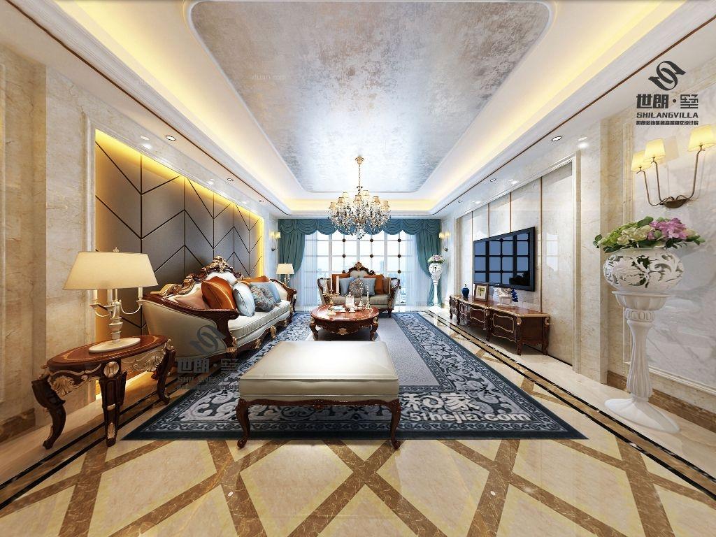 大户型法式风格客厅