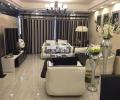 重庆现代黑白灰装修设计案例,兄弟装饰样板间