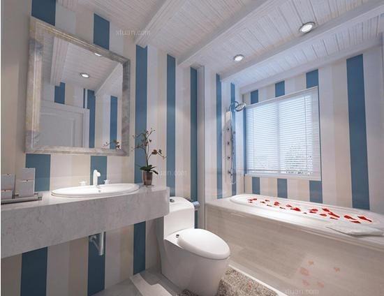 三居室地中海风格浴室