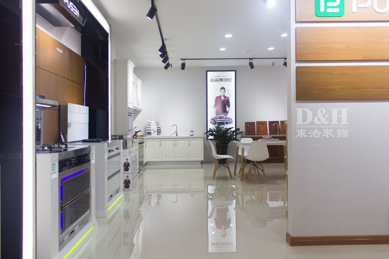 宁德普森集成灶专卖店-设计施工实景照片