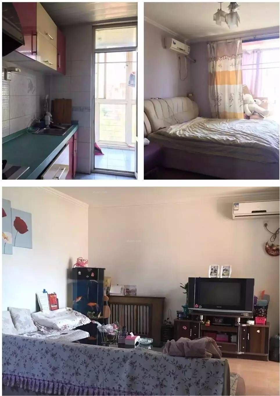"""和平区89平老房改造-""""杂物房""""变身通透敞亮大两居"""