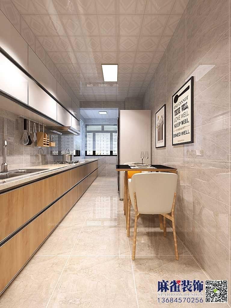 两居室北欧风格厨房