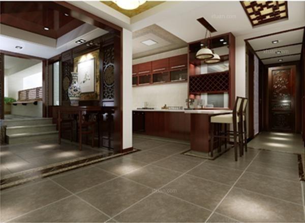 三居室中式风格厨房