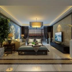 知山雅筑现代新中式风格设计案例