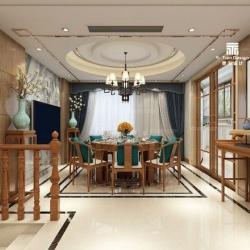 融御华庭300㎡新中式别墅
