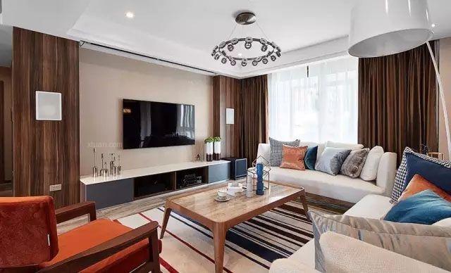 天津127平米的三居改造为两居 安全度过七年之痒