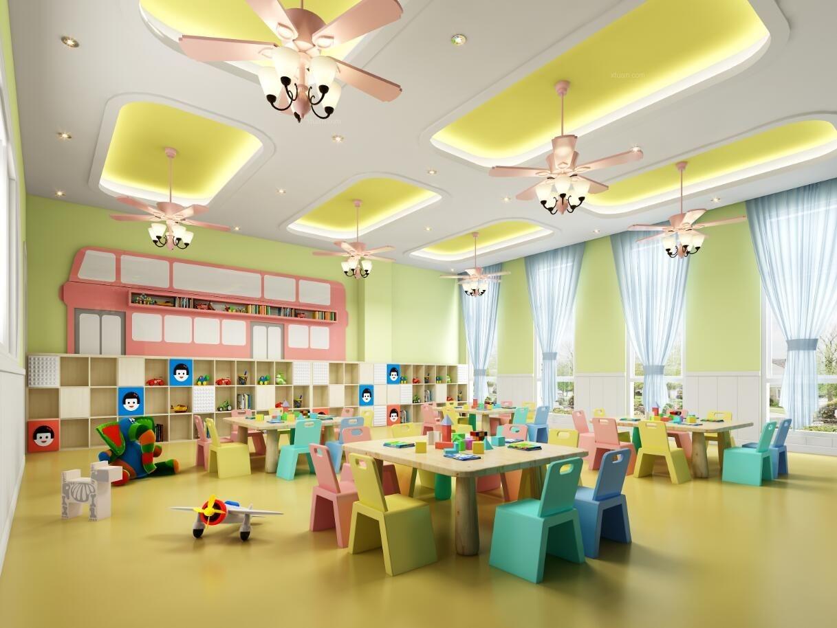 成都幼儿园装修设计公司|最专业幼儿园设计|红太阳幼儿园