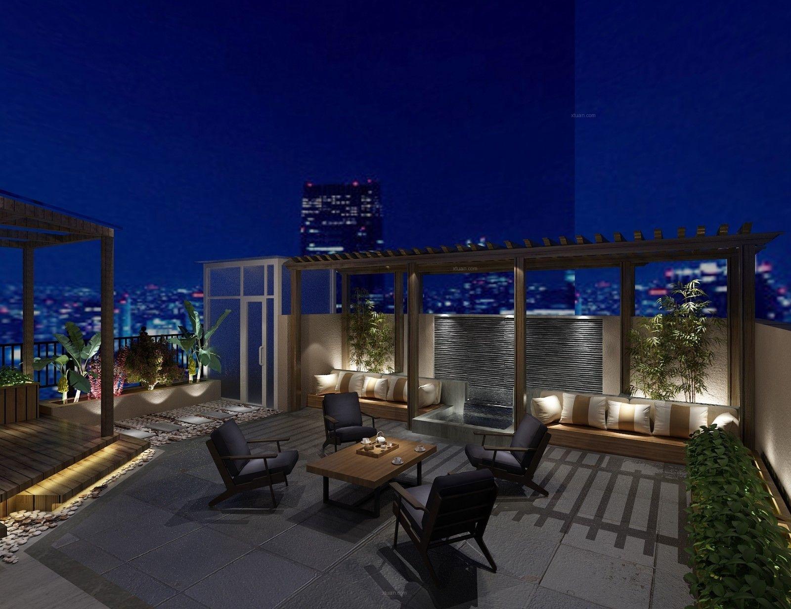 两室两厅欧式风格阳台