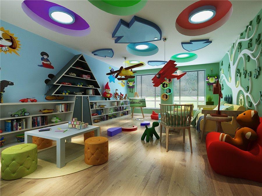 别墅美式风格儿童房