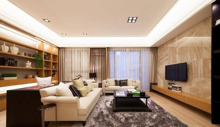 114㎡二室二厅 日式风格