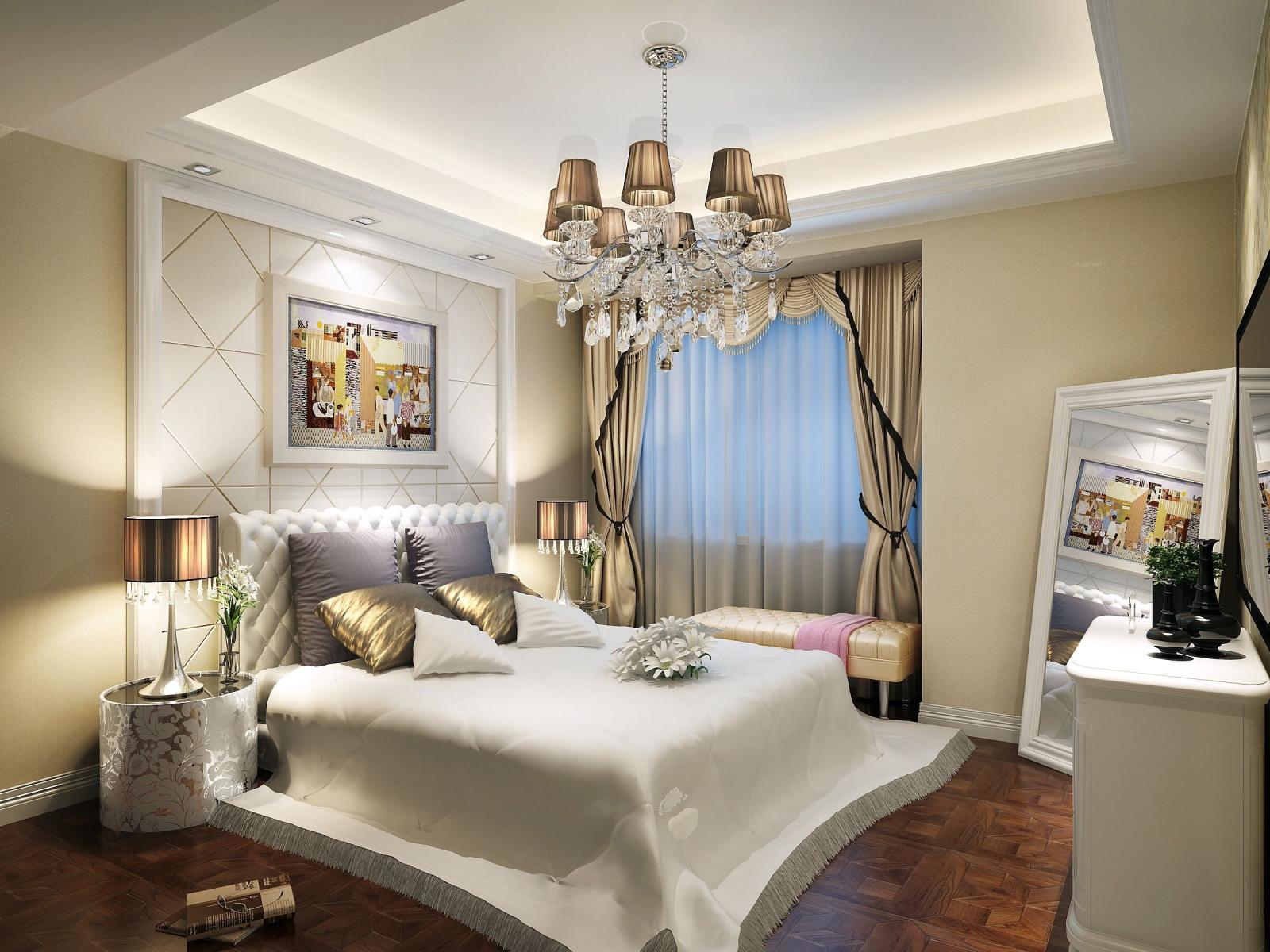 四居室古典风格卧室