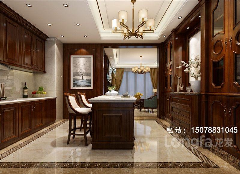 四居室中式风格厨房