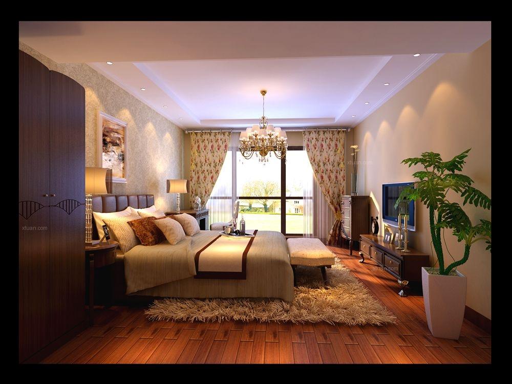 三居室古典风格卧室