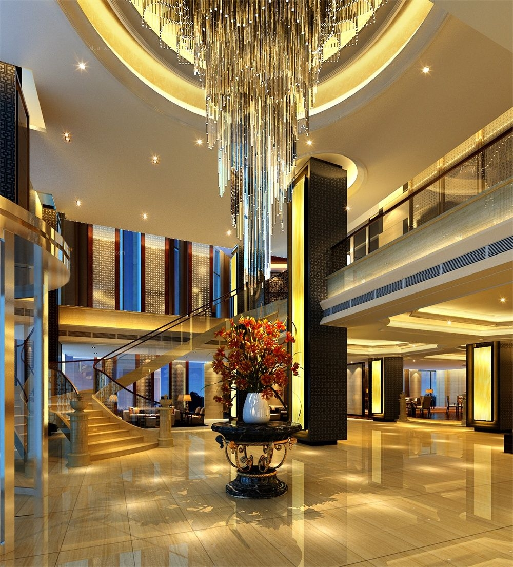 成都酒店装修 汉颐君悦度假酒店装修设计效果图