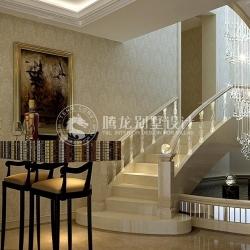 向东岛450平独栋别墅装修新古典欧式
