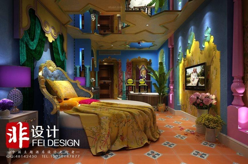 最美主题酒店设计方案!