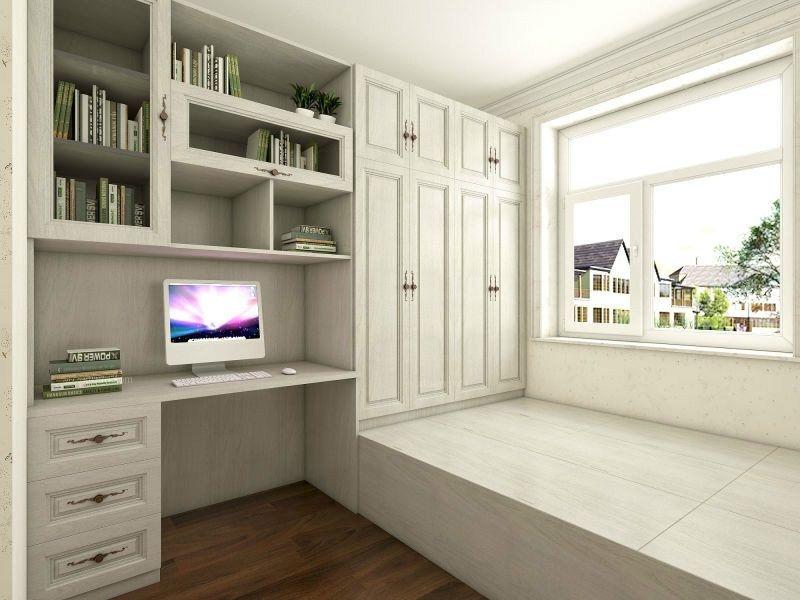 两室两厅现代简约休闲区