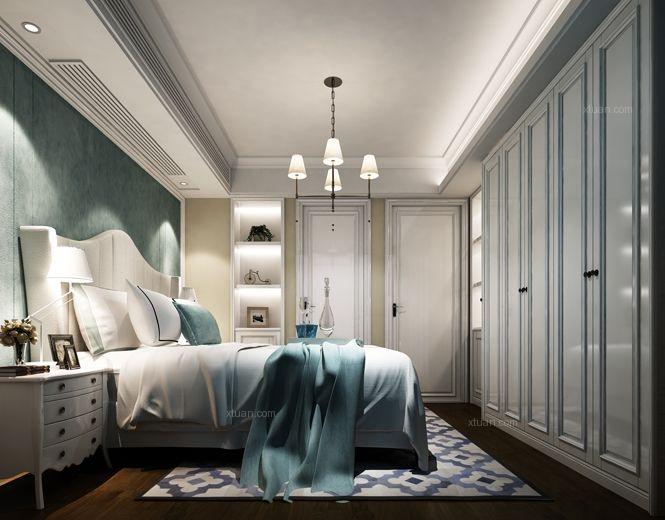两居室欧式风格卧室软装