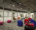 移动设备公司办公室装修实景案例图