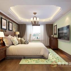 泛海国际三居室美式风格