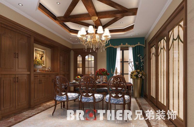 重庆鲁能领秀城装修|茶园联排别墅装修案例