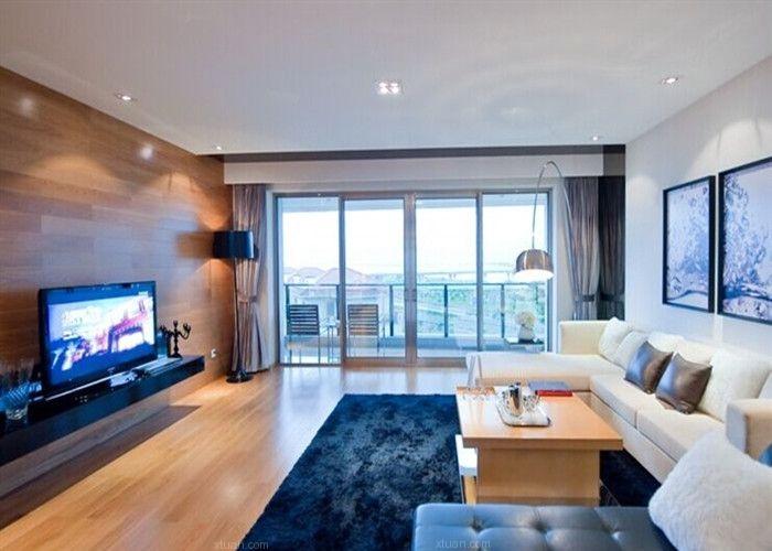 君悦湾两居室装修效果图图片