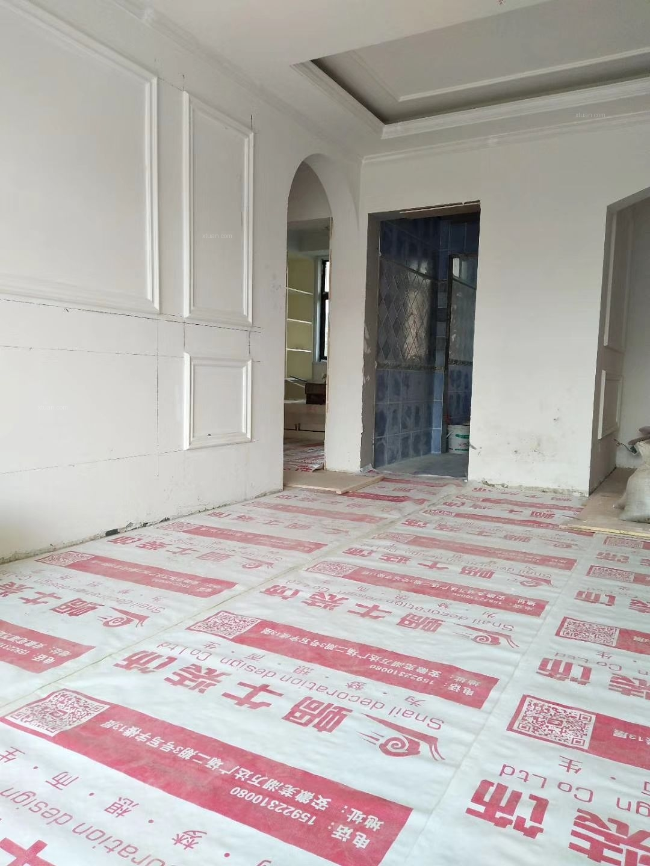 三居室美式风格客厅卧室背景墙