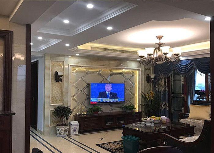 三室两厅美式风格客厅电视背景墙