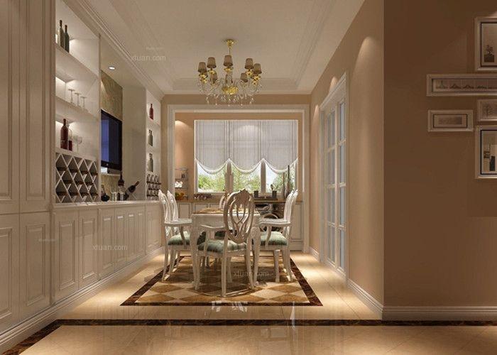 三室两厅简欧风格餐厅