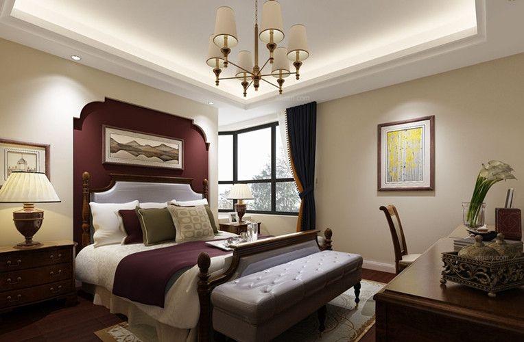 小户型美式风格卧室